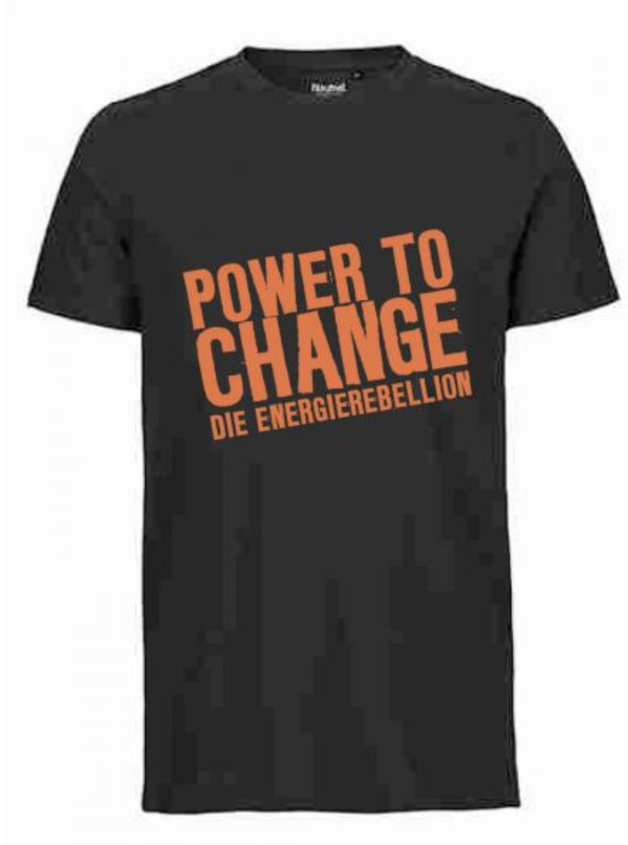 T-Shirt POWER TO CHANGE (Herren)